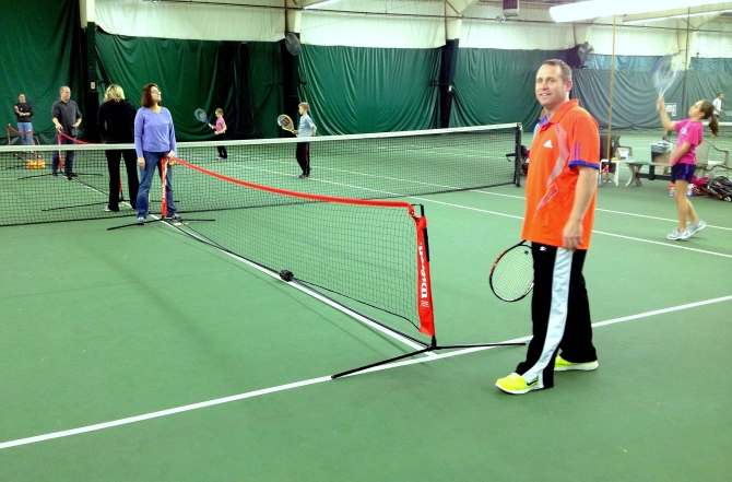 EMPHASIS ON 10 AND UNDER TENNIS DEVELOPMENT