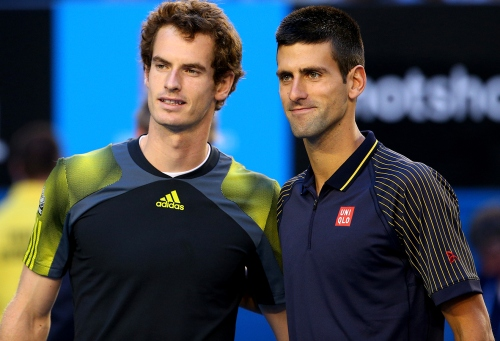 Advantage Novak Djokovic as Murray battles blisters!