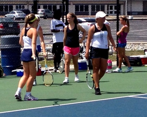 Many talented doubles players at his years summer program