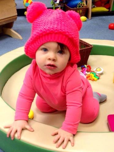 Cutie Ella Frazer in December