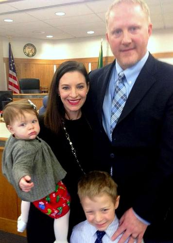 In December in Seattle the Frazer family completed Deklyn's adoption. Congrats!