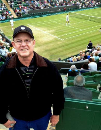 Des during a fantastic 3 days at Wimbledon in July