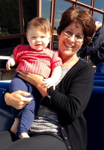 Bren with Ella in Seattle