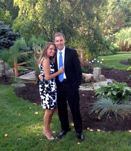 Emily Hougland and Gareth Evans
