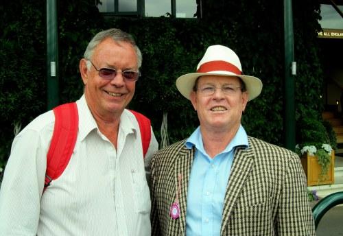 Ant and Des at Wimbledon