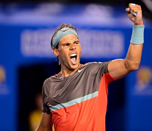 Rafa produced an awesome performance against Federer