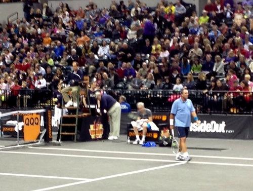 Ivan Llendl played McEnroe in the semis