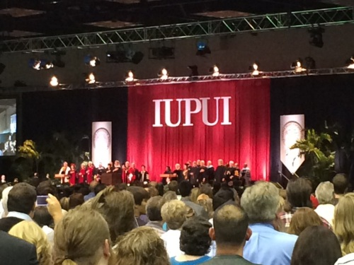 The Graduation Ceremony at IUPUI, Indianapolis