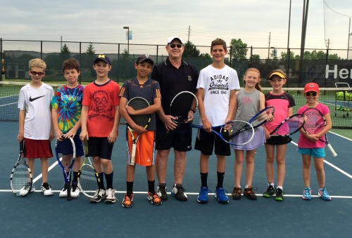 Des with his middle school clinic