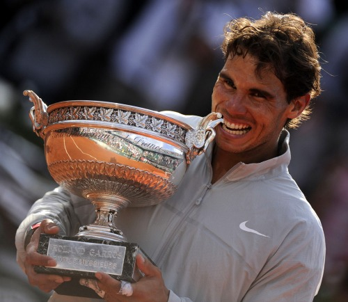 Rafa lifts the French Open trophy for an incredible 9th Time!