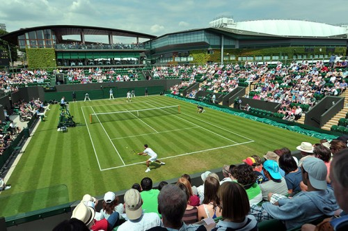 Court 3 in front of the Members' Enclosure