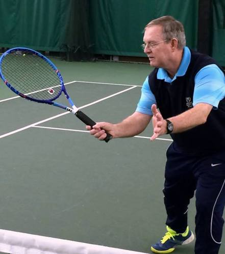 Des has been coaching professionally at the Indianapolis Racquet Club for the past 15 years