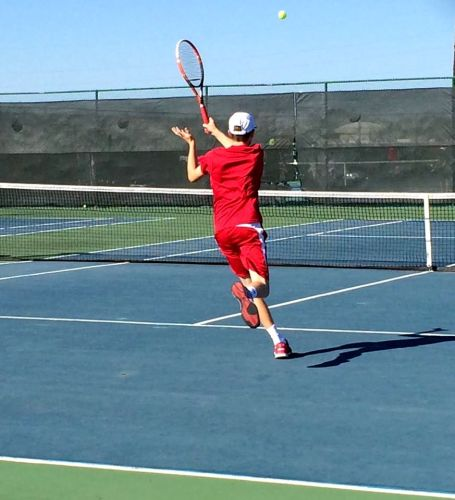 Freshman Matthew True at No 2 Singles has had an outstanding season so far - with an impressive 13-1 record