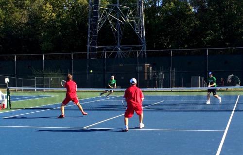 No 1 doubles pairing Josh McKinney and Evan